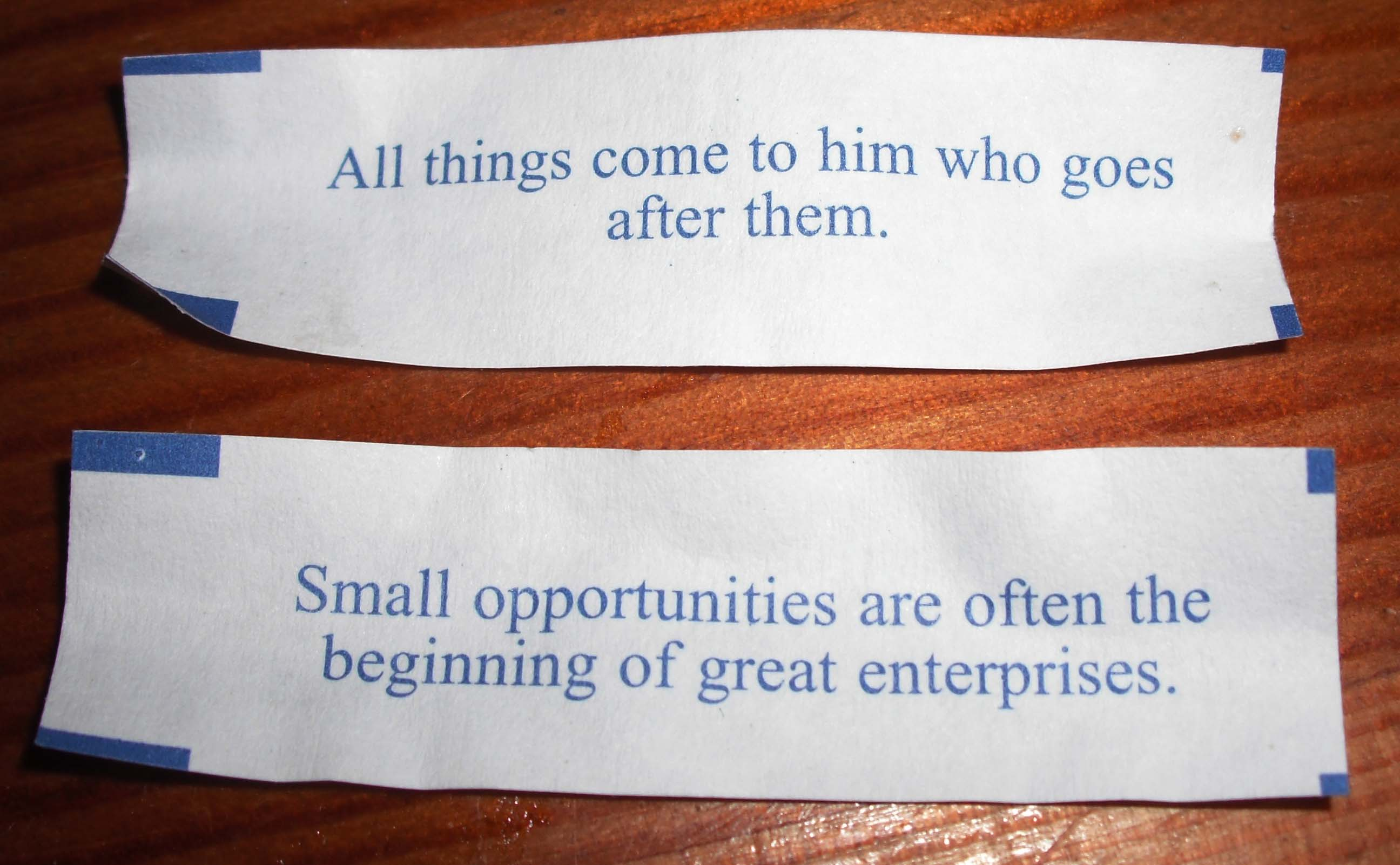 Motivational Saying Motivational Fortune Cookie Message: An American Invention That Always Makes